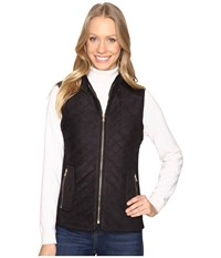 Fate Quilted Vest Black Women's Vest