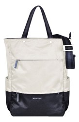 Sherpani Camden Convertible Backpack White Birch