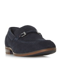 Howick Phisher Snaffle Loafer Shoes Blue