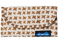 Kavu Big Spender Desert Stars Wallet Handbags Brown
