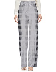 New York Industrie Trousers Casual Trousers Light Grey