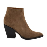 Chloe Rylee Ankle Boots Motty Grey