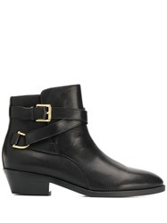 Lauren Ralph Lauren Side Buckle Ankle Boots 60