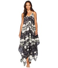 Collection Xiix Tie Dye Cover Up Dress Black