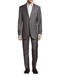 Giorgio Armani Wool And Cashmere Blend Suit