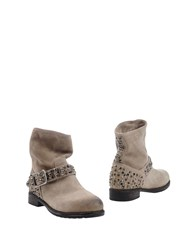 Mr Wolf Mr. Ankle Boots Beige