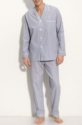 Men's Majestic International Cotton Pajamas Navy