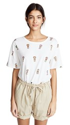 All Things Mochi Worry Dolls Tee Shirt Off White