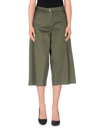 Hope Collection Trousers 3 4 Length Trousers Women Military Green