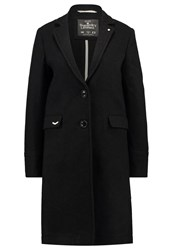 Superdry Race Carriage Classic Coat Charcoal Dark Grey