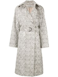 Georgia Alice Belted Trench Coat Brown