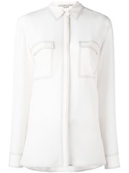 Stella Mccartney Vindy Shirt Nude Neutrals