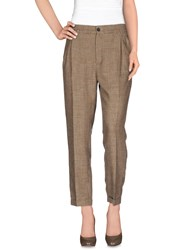 Tela Trousers Casual Trousers Women Sand