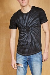 Forever 21 Hype Means Nothing Tie Dye Tee Black