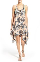 Women's Rip Curl 'Palm Island' Print Cover Up