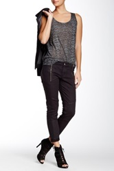 The Kooples Leather Style Jean Gray