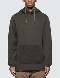 White Mountaineering Side Snap Button Hoodie Grey