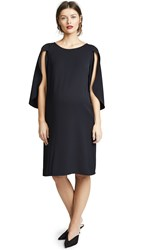 Ingrid And Isabel Tulip Sleeve Shift Dress Jet Black