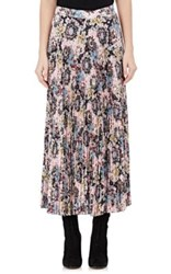 A.L.C. Women's Williams Damask Print Mid Length Skirt Pink