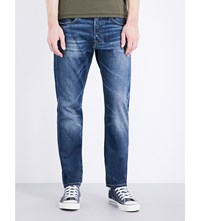 Edwin Ed 55 Relaxed Fit Tapered Jeans Grime Dirt Wash
