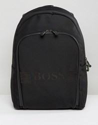 Hugo Boss Green By Pixel Backpack Black Black