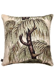 House Of Hackney Babylon Printed Cotton And Linen Pillow