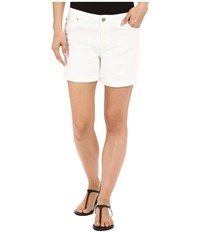 Liverpool Vickie Lightweight Denim Shorts In Bright White Bright White Women's Shorts