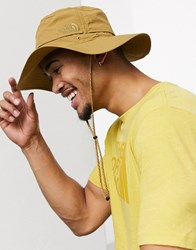 The North Face Horizon Breeze Brimmer Hat In Khaki Green