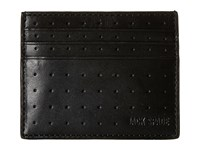 Jack Spade 610 Leather 6 Card Holder Black Credit Card Wallet