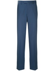 Cerruti 1881 Tailored Fit Trousers Blue