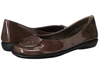 The Flexx Bon Bon Smoke Lapo Women's Flat Shoes Brown
