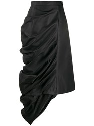 Y Project Draped Satin Skirt 60