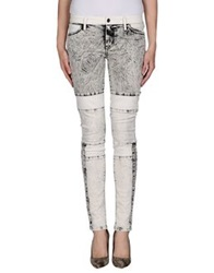 Koral Denim Pants Grey