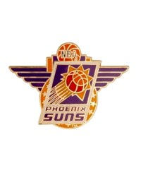 Aminco Phoenix Suns Logo Pin Team Color