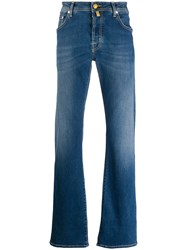Jacob Cohen Straight Cut Jeans Blue