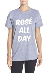 Women's Private Party 'Rose All Day' Jersey Tee