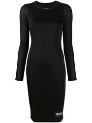 Versace Jeans Couture Fitted Lurex Dress 60