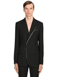 Givenchy Virgin Wool Blazer Black