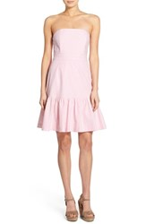 Women's Vineyard Vines Strapless Seersucker Dress