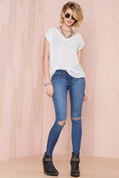 Nasty Gal Cheap Monday Prime R2 Jeans