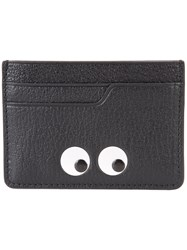 Anya Hindmarch Eyes Wallet Black