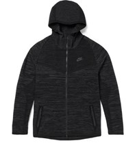 Nike Windrunner Tech Knit Zip Up Hoodie Black