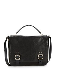 Vince Camuto Flap Front Leather Satchel Foxy