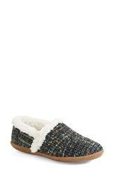 Toms 'Classic Boucle Slippers Women Dark Blue