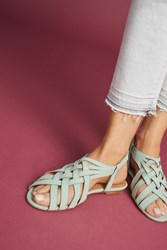 Anthropologie Emma Go Elsie Sandals Turquoise
