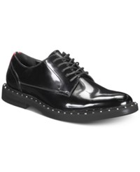Inc International Concepts I.N.C. Bolt Lace Up Oxfords Created For Macy's Shoes Black