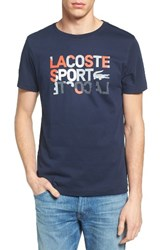 Lacoste Men's Sport Graphic T Shirt