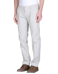 Truenyc. Casual Pants Light Grey