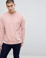 Only And Sons Oversized Sweatshirt Misty Rose Pink