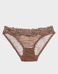 Lonely Bonnie Brief In Taupe